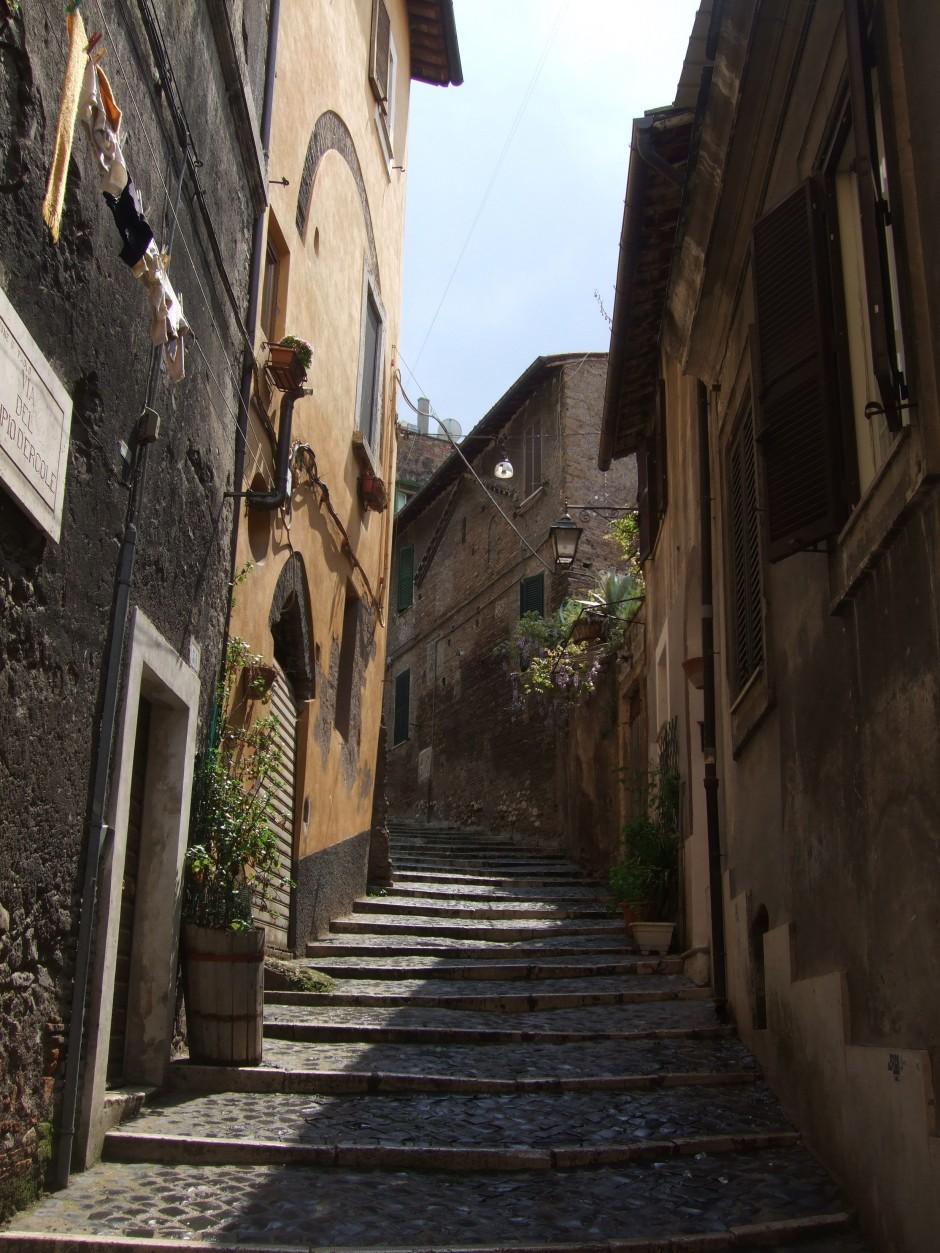 pittoreske smalle straatjes